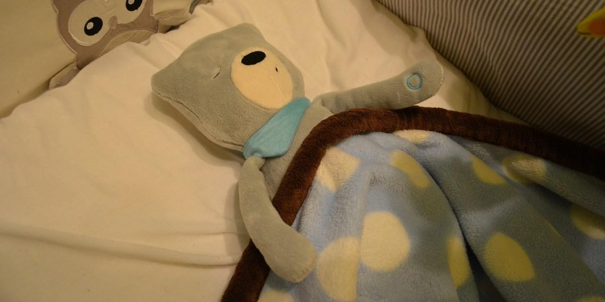 Pora na dobranoc bo już Szumiś... śpi