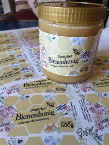 Gaeblini Honigetiketten