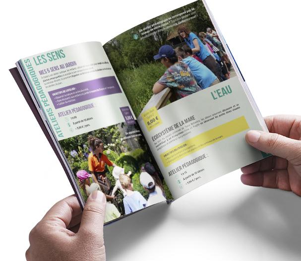 Brochure scolaire - Terra Botanica