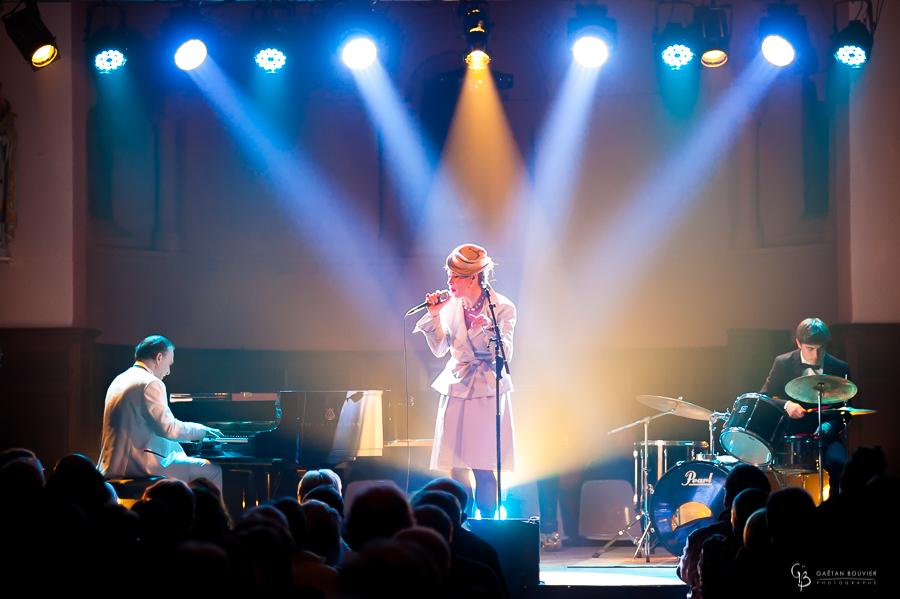 Fabrice Eurly , Dasha Pearl et Octave en concert à Trivy