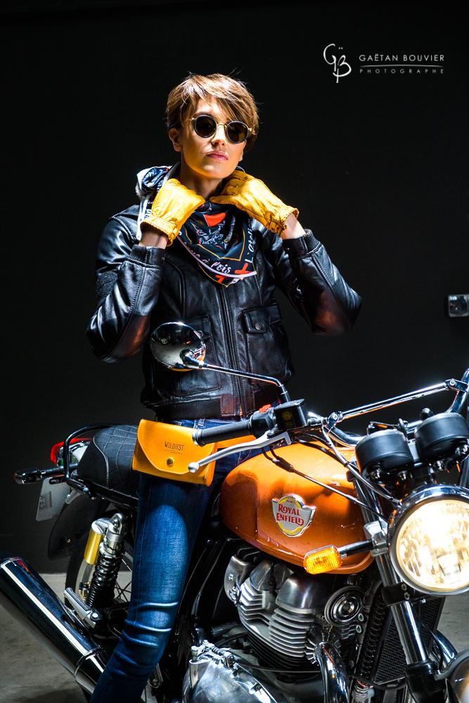 Keira-Soares-Atelier Orange Mecanique-Moto-Royal- Enfield-La cabane à pois-Photographe-Gaetan-Bouvier-Belleville-Cluny-Tournus