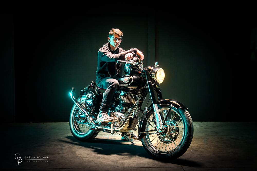 Atelier Orange Mecanique-Moto-Royal Enfield-Noah-Bouvier-Gaetan-Photographe-Macon