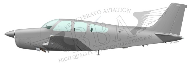 AAA-Beech-Bonanza-F33-port-model