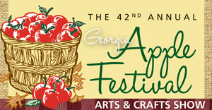Georgia apple fest logo