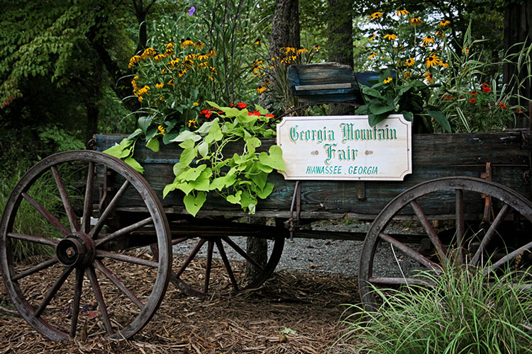georgia mountain fairgrounds entrance