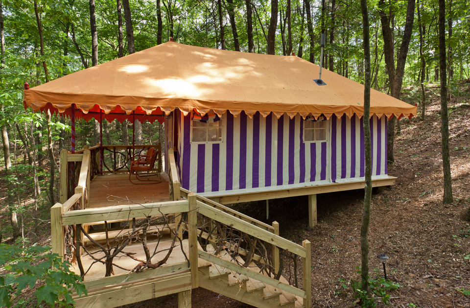 Martyn House tent