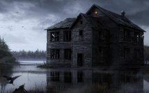 Spooky Haunted House Wallpaper