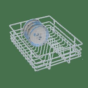 PLATE BASKET (6″ HEIGHT X 12″ WIDTH X 20″ DEPTH) STAINLESS STEEL