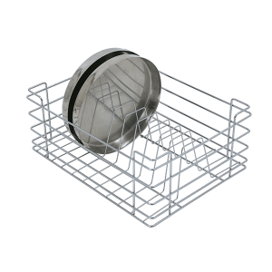 Stainless Steel Thali Basket (8″ Height X 15″ Width X 20″ Depth)