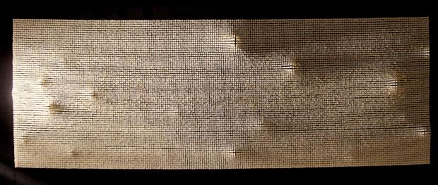 Andrej Koruza, Segnali al limite, 2013, mosaico dinamico