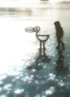 Eron, Mindscape, spray su tela, 2010