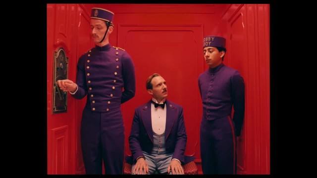 Una scena del The Gran Hotel Budapest Hotel di Wes Anderson, 2014
