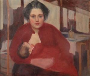 Domenico Baccarini, La Bitta che allatta,