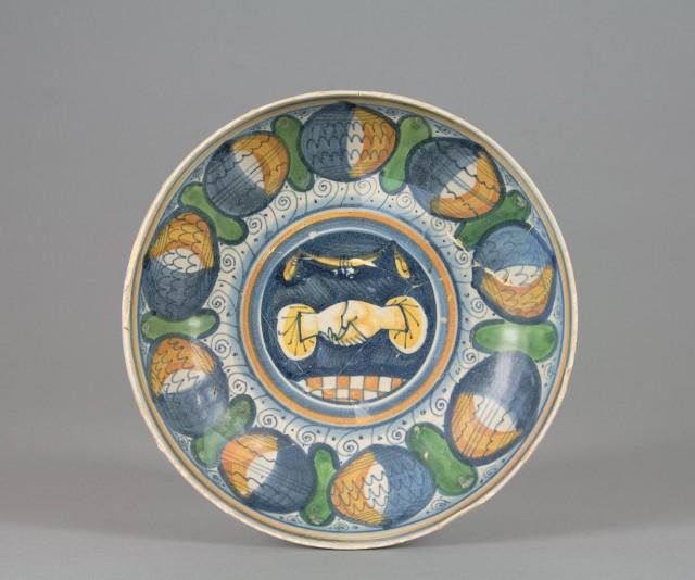Ceramica rinascimentale d'amore 2