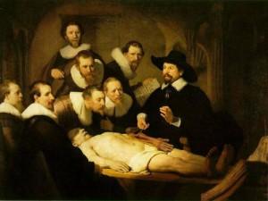 Rembrandt, Lezione di anatomia