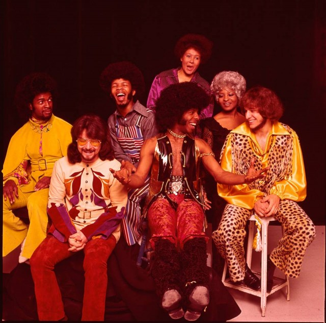 Sly & The Family Stone bunch