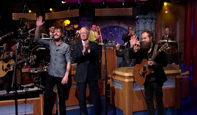 Ben Bridwell e Iron & Wine al David Letterman Show