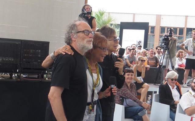 Michael Cimino ed Enrico Ghezzi – foto di gruppo