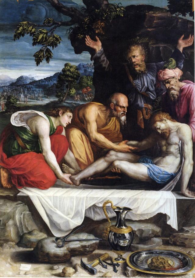 Deposizione di Prospero Fontana