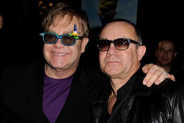 Elton John con Bernie Taupin