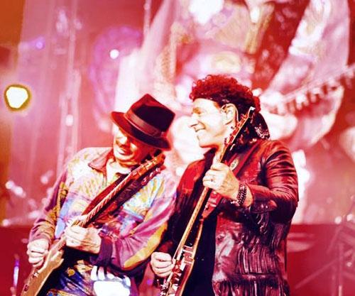 Carlos Santana e Neal Schon