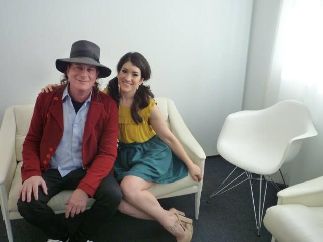 Gary Lucas con Sarah Stiles