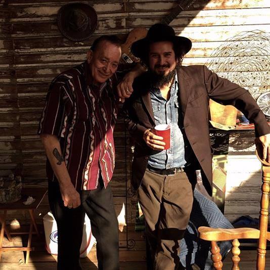 Vinicio Capossela con Flaco Jiménez