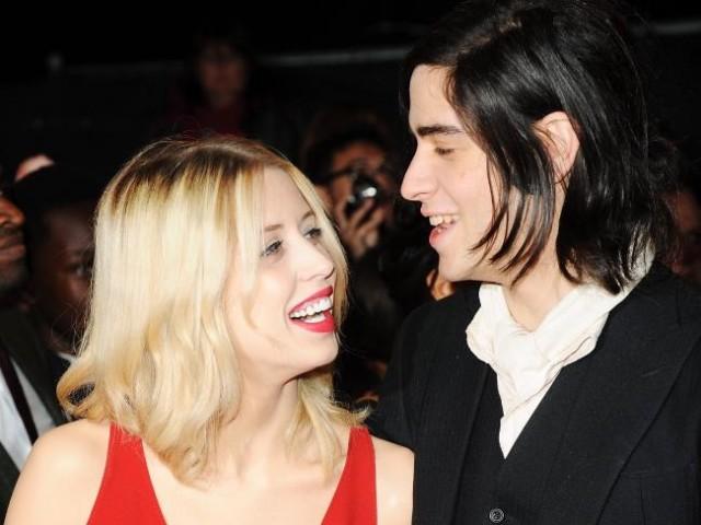 Thomas Cohen con la defunta moglie Peaches Geldof
