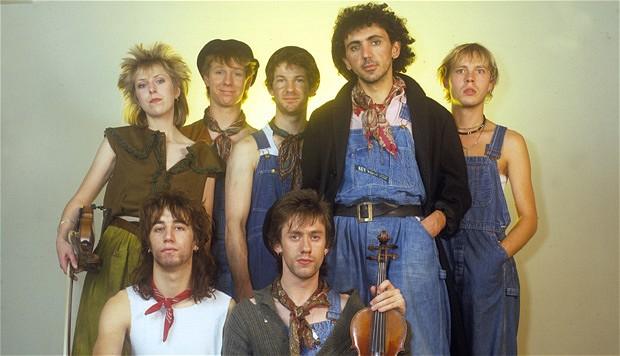 I Dexys Midnight Runners nei primi anni Ottanta...