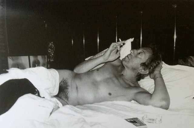 Serge Gainsbourg naked