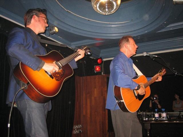 Bob Lind con Richard Hawley in concerto a Londra – 2006