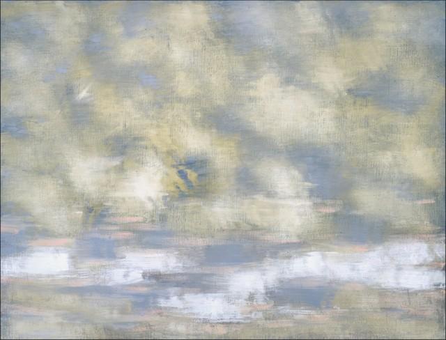 Claudio Verna, Geografia I, 1999, olio su tela, cm.100 x 130, courtesy Galleria Monitor, Roma
