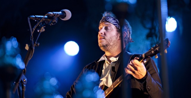 "US singer Justin Vernon of the band ""Bon"