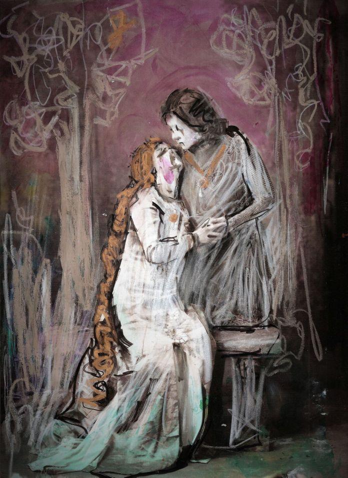 Romeo e Giulietta disegno di Cikuska