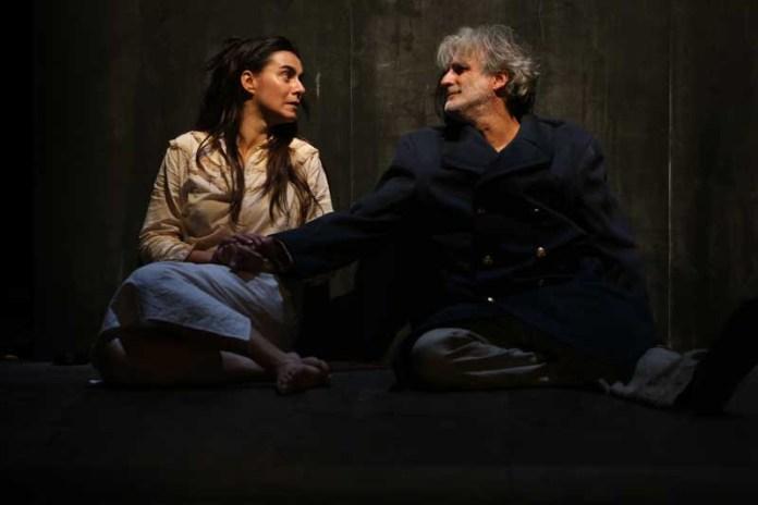 """César Brie e Catia Caramia in """"La Volontà"""""""