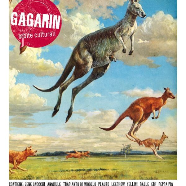 copertina gagarin canguri