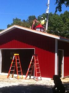Gaga's Garden Little Red Gardening Barn