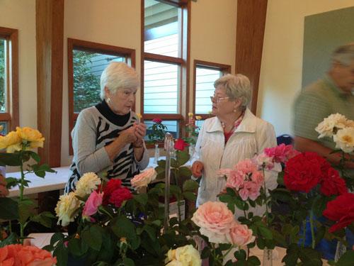 Renee LaFolette and Mary Ewaldz