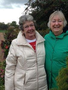 Christine Poppe and Susan
