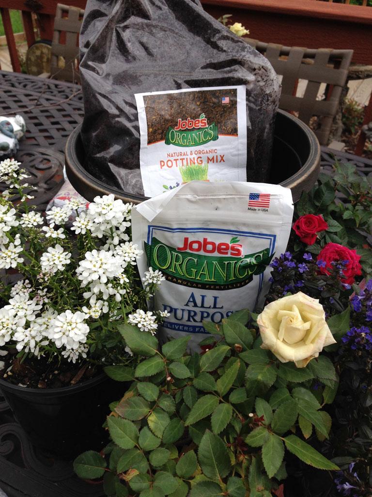 Jobes Organics Container ThrowDown Challenge