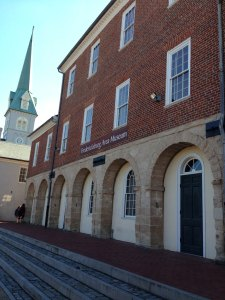 Fredericksburg Town Hall, one of the oldest continuous in use town halls in the US today.