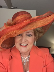 The Hat my darling daughter-in-law picked out for me sight un-seen of the color of my jacket and it was perfect!