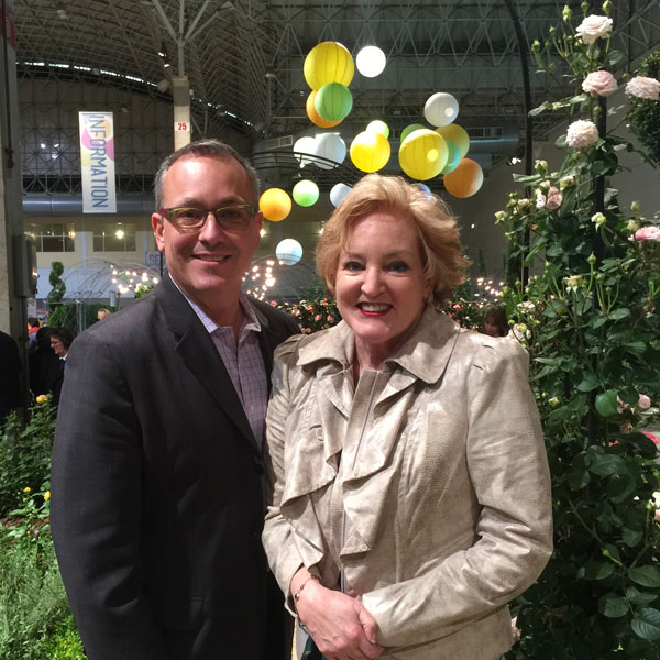 Tony Abruscato | Susan Fox in the Rose Garden