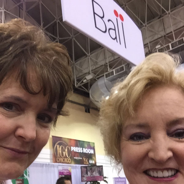 Ball Horticultural Company Joy and I talking about the acquisition of Star Roses and Plants