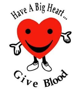 Be a Hero – Donate Blood