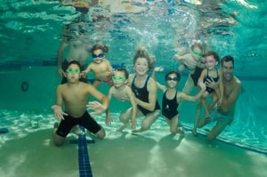La Petite Baleen Teaches Children Swimming and Life Lessons