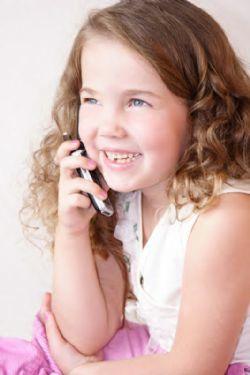 child on telephone