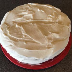 Vanilla Mocha Cake - exterior