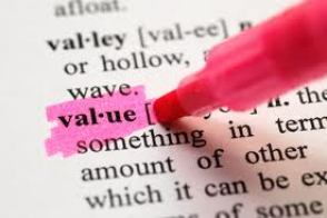 Value Definition Highlight