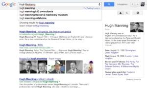 Hugh Manbeing Google Search